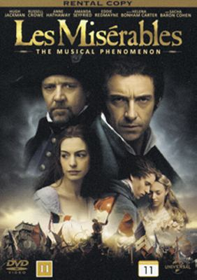 Les misérables [Videoupptagning] : the musical phenomenon / directed by Tom Hooper ; produced by Tim Bevan ... ; screenplay by William Nicholson ... ; music by Claude-Michel Schönberg ; lyrics by Herbert Kretzmer.